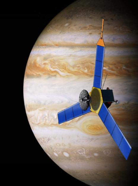 Diseño original de Juno (NASA).