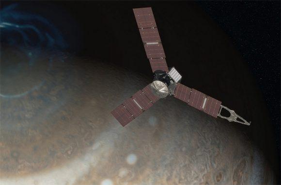 Diseño final de Juno (NASA).