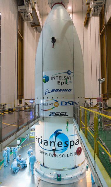 Integration composite sur lanceur au BAF le 13/08/2016 VA232