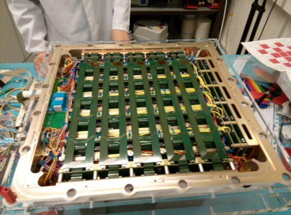 Detector de rayos gamma POLAR (Xinhua).