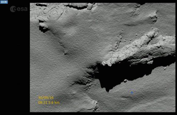 Zona de aterrizaje de Rosetta (ESA).