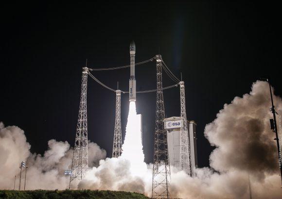 Lanzamiento de la misión VV07 (Arianespace).