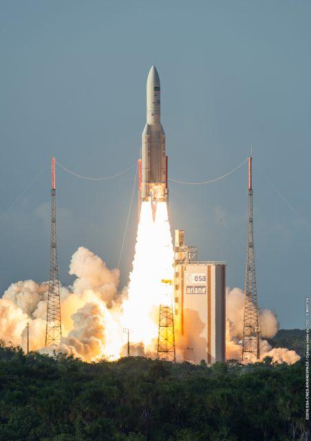Lanzamiento de la misión VA231 (Arianespace).