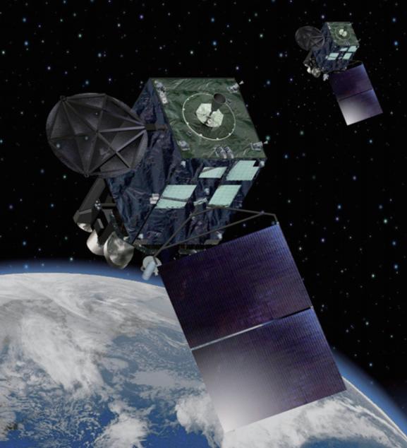 Los satélites gemelos Himawari 8 y 9 (JAXA).