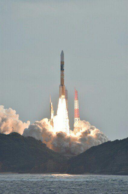 Lanzamiento del Himawari 9 (JAXA).