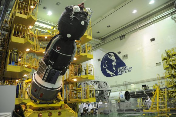 La Soyuz MS-03, la última Soyuz lanzada al espacio (Roscosmos).