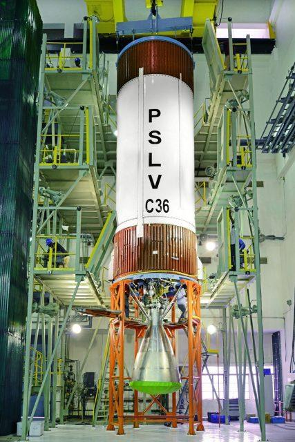 Segunda etapa del PSLV C36 (ISRO).