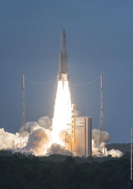 Lanzamiento de la misión VA234 (Arianespace).