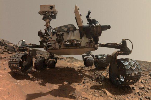 Otro selfie de Curiosity (NASA/JPL).