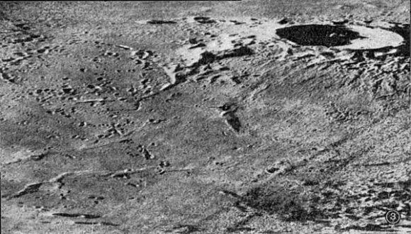 Imagen de la Luna obtenida por la Luna 19 (http://mentallandscape.com/).