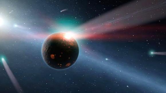 El paso de Gliese 710 cerca del Sol provocará una lluvia de cometas de periodo largo que durará cuatro millones de años (NASA).