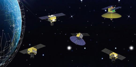 Constelación de satélites Siwei Star (Siwei Star).