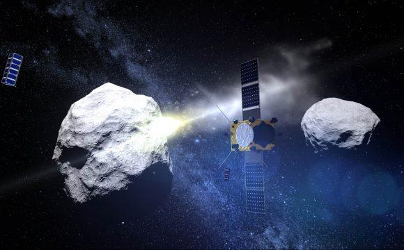 Adiós a la sonda AIM de la ESA (ESA).