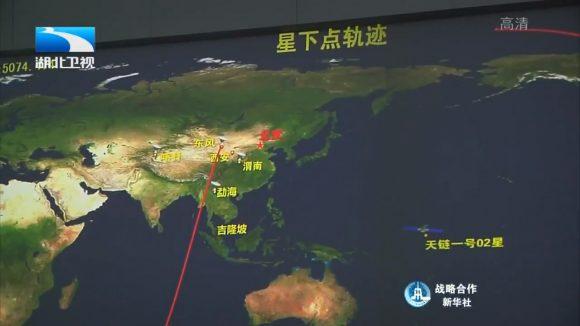 Trayectoria del lanzamiento (chinaspaceflight.com).