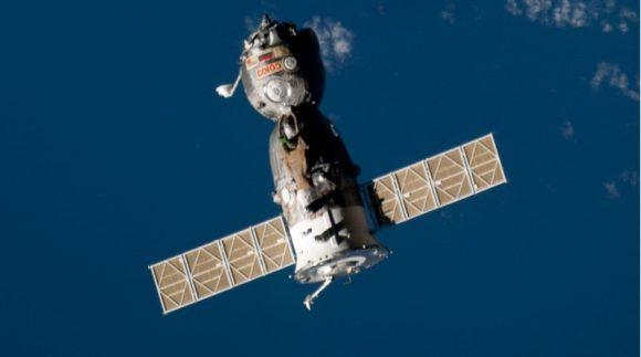 Una nave Soyuz tripulada (NASA).