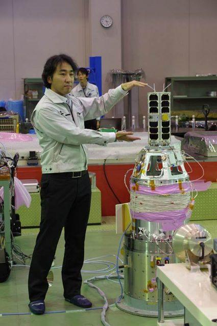 Cubesat TRICOM 1 (JAXA).