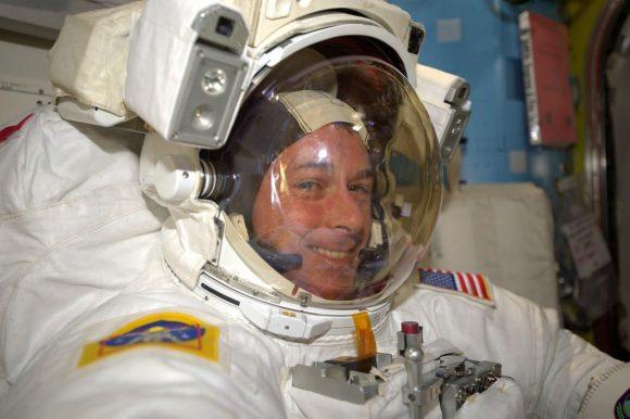 Kimbrough tras la EVA (NASA).