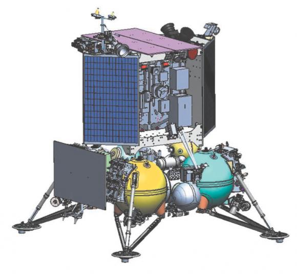 Sonda Luna 25 (NPO Lávochkin).