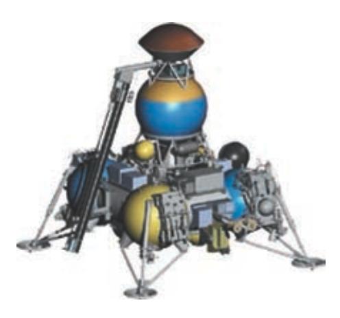 Sonda Luna 28 de retorno de muestras (NPO Lávochkin).