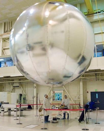 Prototipo de globo de la NASA para el estudio de Venus (NASA).