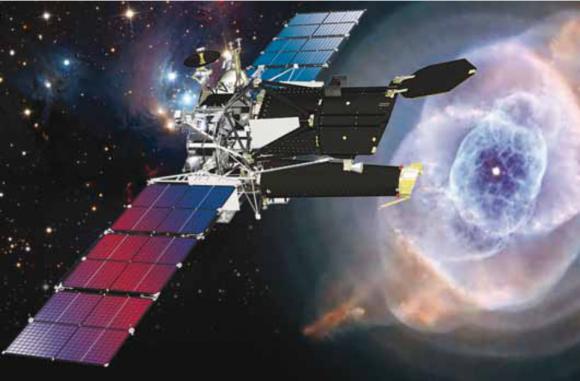 Observatorio espacial de altas energías Spektr-RG (NPO Lávochkin).