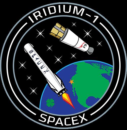 Emblema de la misión (SpaceX).