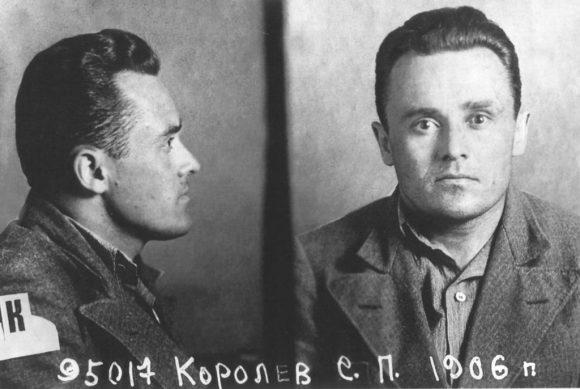 Ficha de Koroliov tras su arresto en 1938.