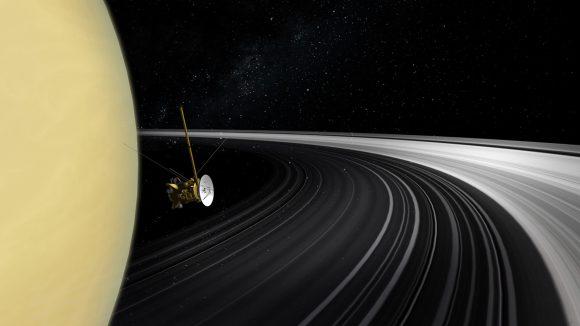 Cassini comienza la última parte de la misión: Grand Finale (NASA).