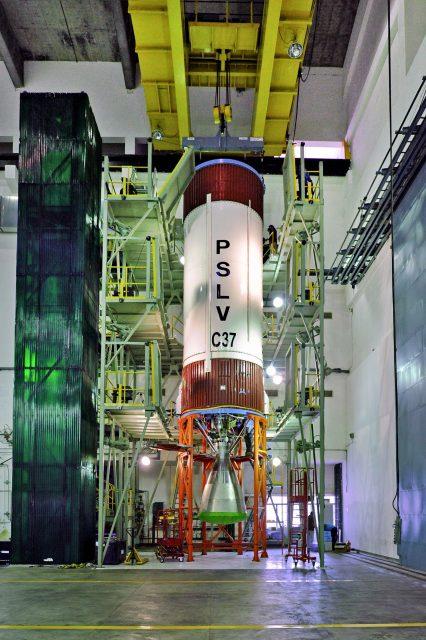 Segunda etapa del PSLV C37 (ISRO).