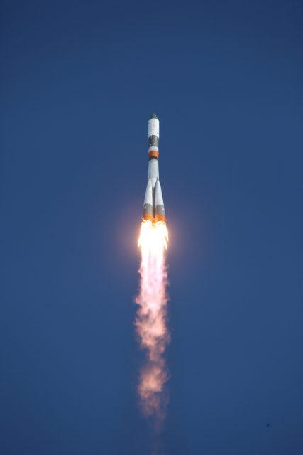 Lanzamiento de la Progress MS-05 (Roscosmos).