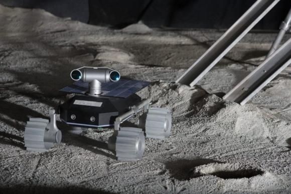 El pequeño y 'kawai' rover ECA de Team Indus (Team Indus).