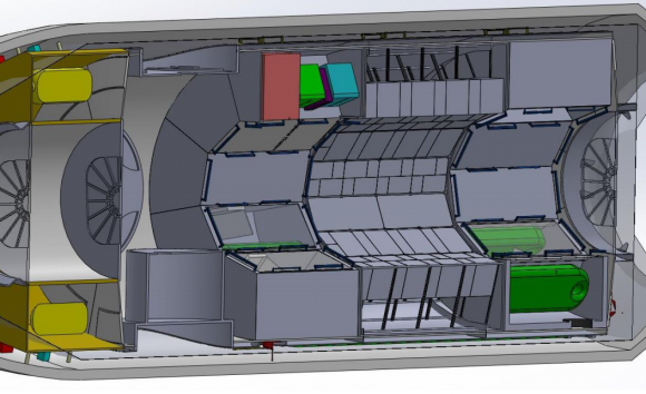 Interior del módulo Axiom (Axiom).