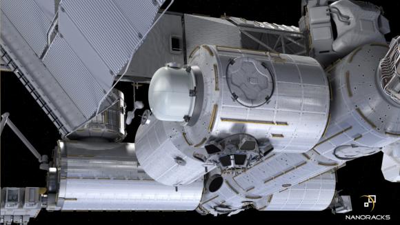 La pequeña esclusa de NanoRacks se acoplará al módulo Tranquility de la ISS (NASA).