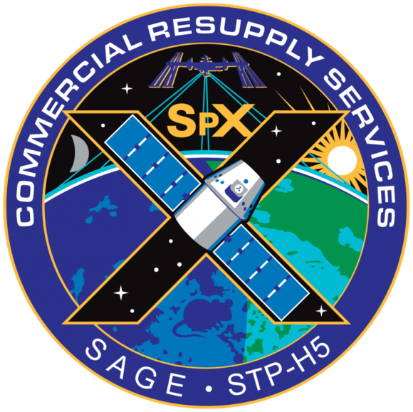 Emblema de la misión de la NASA (NASA).