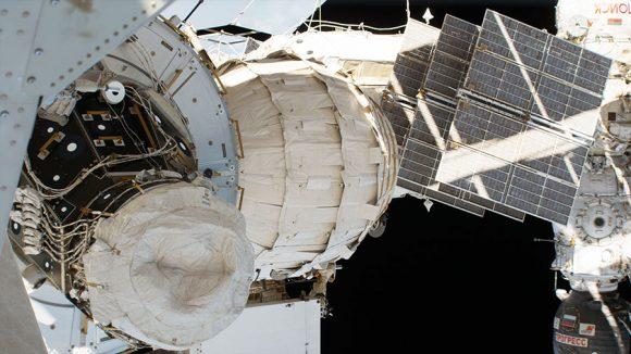 Módulo BEAM de Bigelow en la ISS (NASA).