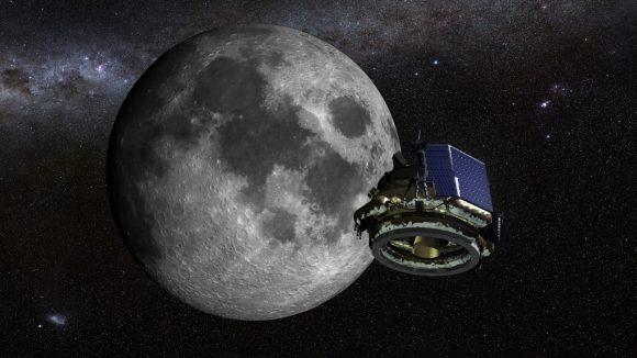 La sonda de Moon Express camino de la Luna (Moon Express).