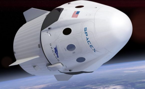 Nave Dragon 2 (SpaceX).