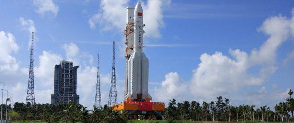 Cohete Larga Marcha CZ-5.