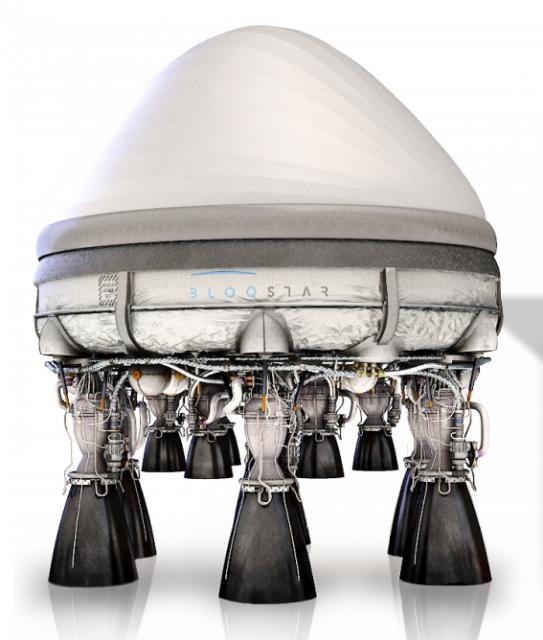 Cohete Bloostar (Zero 2 Infinity).