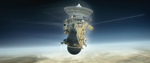 Los últimos momentos de Cassini (NASA/JPL-Caltech).