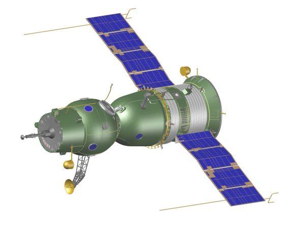 Nave Soyuz 7K-OK activa (A) (A. Shlyadinsky).
