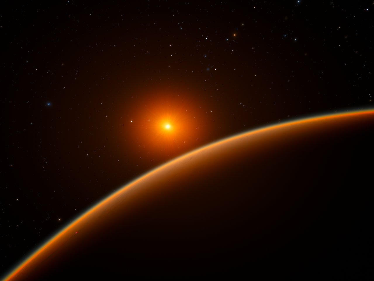 Resultado de imagen de Enana roja y su planeta