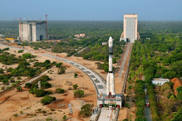 23panoramicviewofgslv-f06beingmovedtolaunchpad