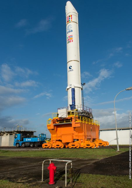 EAP de la misión VA236 (Arianespace).