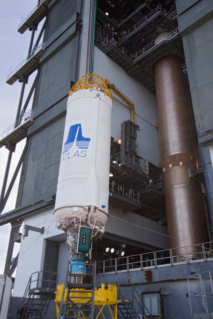 Etapa Centaur del Atlas V (ULA).
