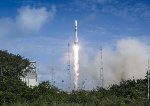 Lanzamiento de la misión VS17 (Arianespace).