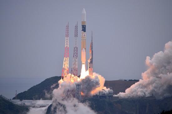 Lanzamiento del Michibiki 2 (JAXA).