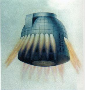 Nave Zaryá, la súper-Soyuz (RKK Energía).
