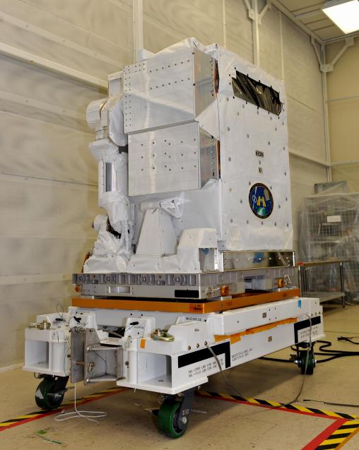 NICER antes del lanzamiento (NASA).