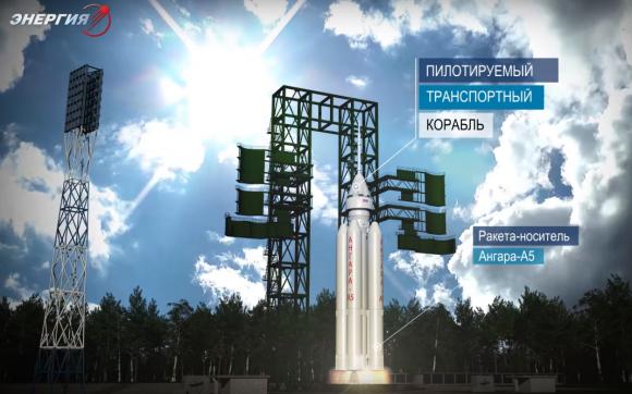 Angará A5P en Vostochni (Roscosmos).